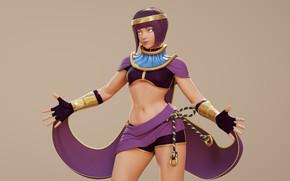 Картинка девушка, фон, Street Fighter