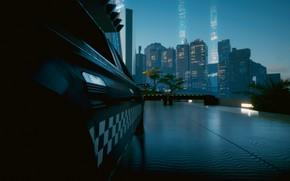 Картинка Машина, Cyberpunk 2077, Night city 2077