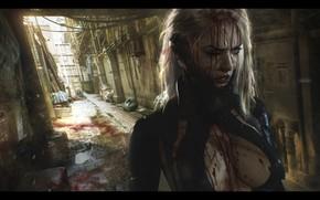 Картинка Illustration, Concept Art, Science fiction, Cyberpunk, Digital 2D