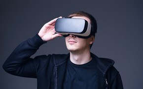 Картинка man, glasses, virtual reality