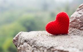 Картинка любовь, камни, скалы, сердце, red, love, heart, stone, romantic
