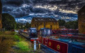Картинка england, yorkshire, Sowerby Bridge