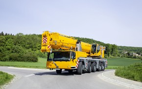 Картинка crane, engineering, liebherr, ltm1250