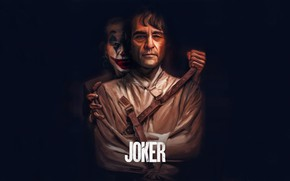 Картинка буквы, рисунок, краска, арт, Джокер, art, слово, Joker, Joaquin Phoenix, Хоакин Феникс, 2019