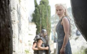 Картинка Игра Престолов, Game of Thrones, Emilia Clarke, Daenerys Targaryen, мать драконов