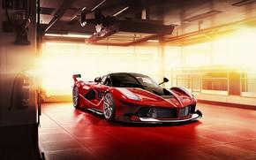 Картинка Ferrari, Scuderia, Italia, RED, LaFerrari, FXXK