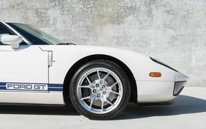 Картинка Колеса, Передок, 2005 Ford GT, Переднее крыло