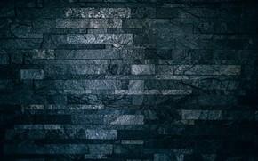 Картинка dark, wall, black, texture, lines, brick, interier, surface, concrete, wall bricks, rough, backgound, 4k wallpapers, …