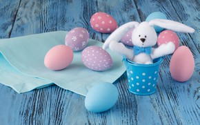 Картинка праздник, весна, кролик, пасха, egg