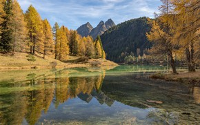 Картинка вода, пейзаж, горы, река