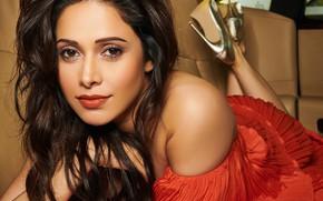 Картинка smile, indian, actress, bollywood, make up, Nushrat bharucha