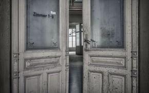 Картинка комната, интерьер, двери