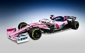 Картинка формула 1, болид, 2019, Racing Point F1