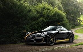 Картинка 911, Porsche, Turbo, 2018, Manhart, TR 700