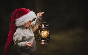 Картинка фон, лампа, ребёнок