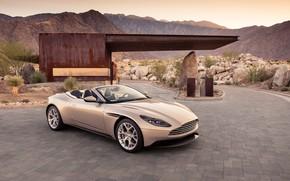 Картинка Aston Martin, 2018, Volante, DB11