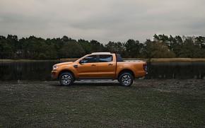 Картинка берег, Ford, пикап, Ranger, Wildtrak, 2019