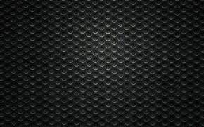 Картинка чёрные, сетка, дырочки, кружёчки
