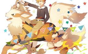 Картинка мальчик, Покемон, Pokemon, Покемоны