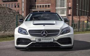 Картинка Mercedes-Benz, вид спереди, AMG, Coupe, C63, Widebody, Prior-Design, C-Class, 2017, C205, PD65CC