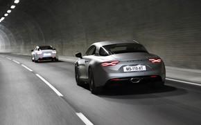 Картинка купе, тоннель, Alpine, 2019, A110S