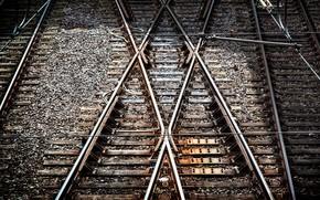 Картинка x-tracks, Essen, tram tracks