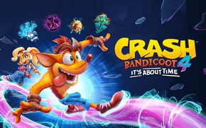 Картинка фэнтези, Crash Bandicoot, Coco Bandicoot, Crash Bandicoot 4: It's About Time