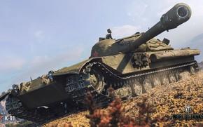 Картинка WoT, World of Tanks, Wargaming, К-91