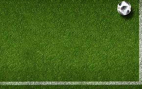 Обои Мяч, Спорт, Футбол, Россия, Adidas, 2018, Газон, ФИФА, FIFA, ЧМ 2018, Чемпионат мира по футболу ...