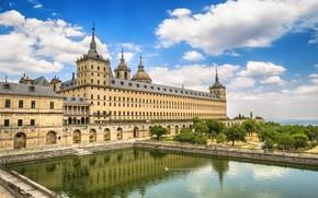 Картинка Испания, монастырь, дворец, Мадрид, Эскориал