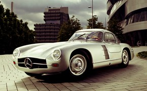Картинка Vintage, Retro, Mercedes- Benz, Old car