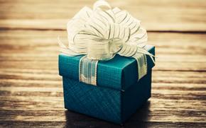 Картинка подарок, Love, лента, Wood, Vintage, Gift, Birthday