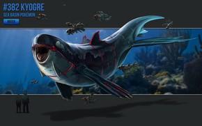 Картинка арт, Дельфин, покемон, pokemon, водный