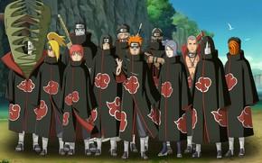 Картинка sword, zombie, rock, game, hitman, undead, Naruto, beach, sky, anime, cloud, ken, tatoo, blade, Itachi, …