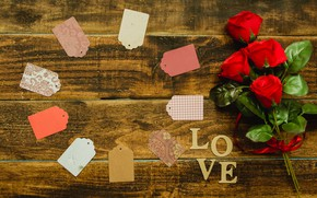 Картинка цветы, праздник, розы, букет, лепестки
