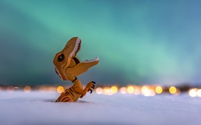 Картинка фон, игрушка, динозавр