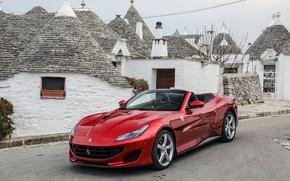Обои Ferrari, кабриолет, Portofino