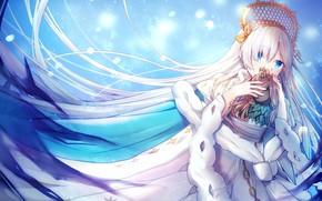 Картинка девушка, Fate / Grand Order, Судьба Ночь схватки, ice (ice)