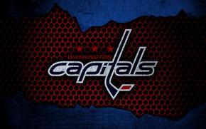 Картинка wallpaper, sport, logo, NHL, Washington Capitals, hockey