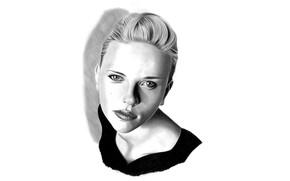 Картинка девушка, портрет, актриса