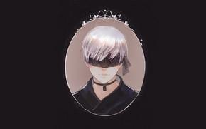 Картинка портрет, парень, Nier Automata, YoRHa No 9 Type S