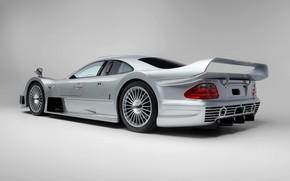 Картинка Mercedes-Benz, GTR, Диски, CLK, 1997, Sports car, Mercedes-Benz CLK GTR AMG Coupe, Mercedes-Benz CLK GTR