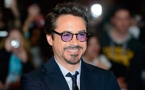 Картинка улыбка, очки, актёр, Роберт Дауни Мл., Robert Downey Jr.