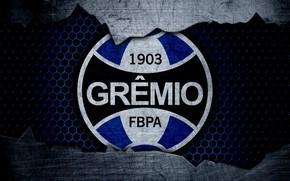 Картинка wallpaper, sport, logo, football, Gremio