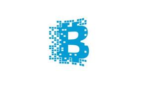 Картинка белый, голубой, лого, logo, blockchain, блокчейн