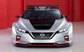 Картинка Nissan, вид спереди, Leaf, 2019, Nismo RC