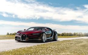 Картинка Bugatti, Road, Chiron, ANRKY