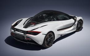 Картинка McLaren, суперкар, вид сзади, 2018, 720S, Track Theme
