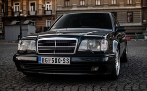 Обои Mercedes, Benz, E500, W124
