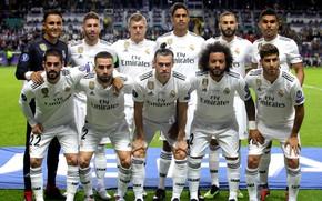 Картинка футбол, клуб, команда, Реал Мадрид